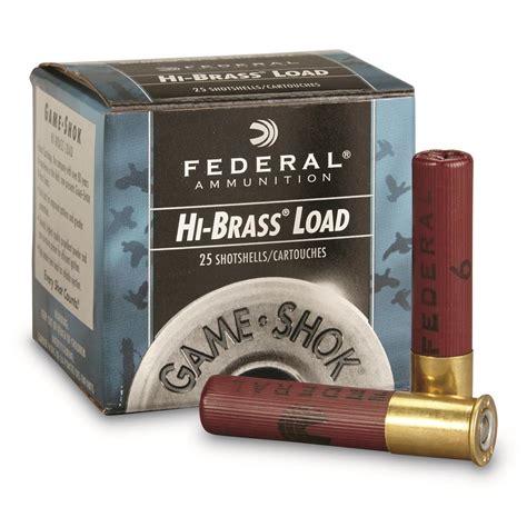 Federal Shotgun Ammo Canada
