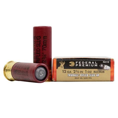 Federal Shotgun Ammo Tslef12rs