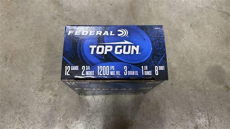 Federal Top Gun 12 Gauge 2 3 4 1 1 8oz 7 5 2 3 4 Dram