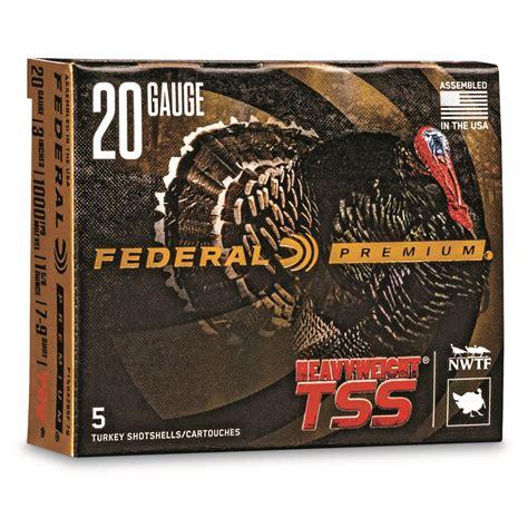 Federal Tss Shotgun Shells 20 Gauge
