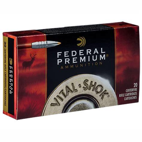 Federal Vitalshok Ammo 7mm Stw 160gr Trophy Bonded Tip 7mm Stw 160gr Trophy Bonded Tip 200case