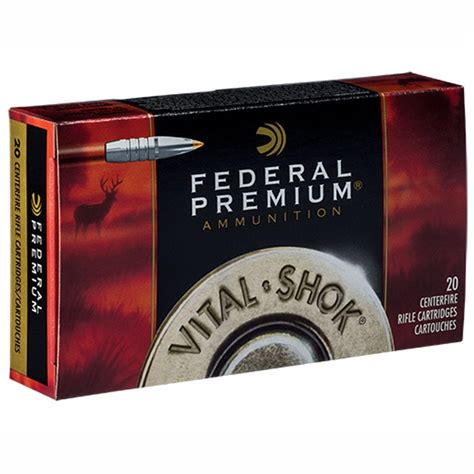 Federal Vitalshok Ammo 7mm Stw 160gr Trophy Bonded Tip 7mm Stw 160gr Trophy Bonded Tip 20box