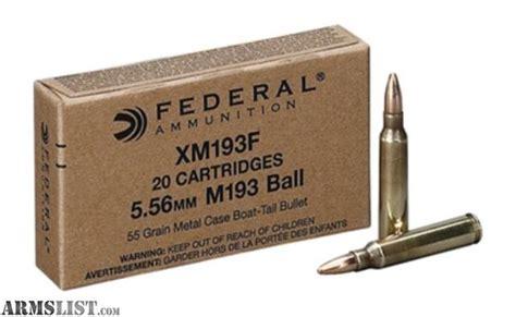 Federal Xm193f