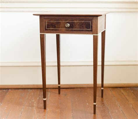 Federal Style Side Table Plans