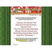 Free tutorial feng shui secrets that will change your life *plus*3 bonus gifts