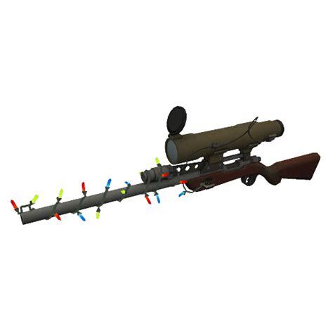 Festive Sniper Rifle Backpack Tf