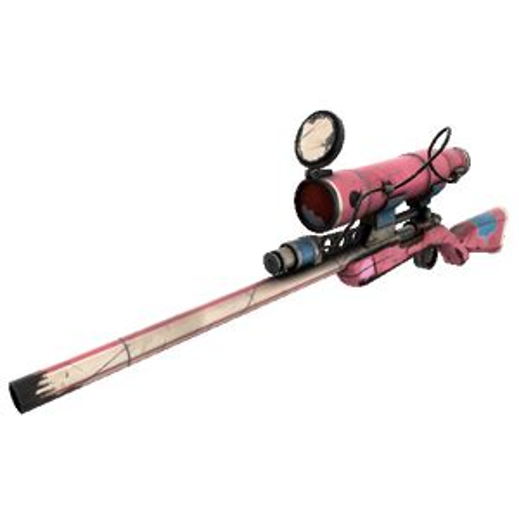 Festive Specialized Killstreak Balloonicorn Sniper Rifle Factorny New