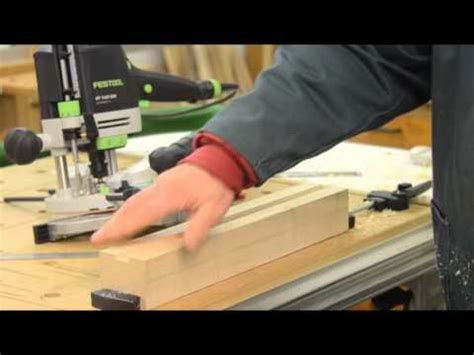 Festool of1400 router review and demonstration Image