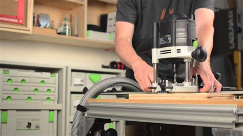 Festool rail guided routing overview Image
