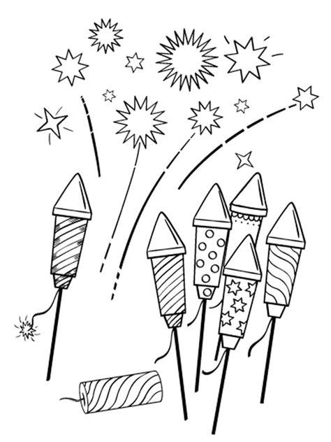 Feuerwerk Malvorlage