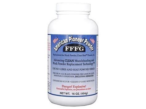 Fffg American Pioneer Fffg Powder Substitute 100 Grain