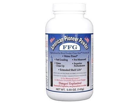 Ffg Granulated Black Powder Substitute American Pioneer Inc