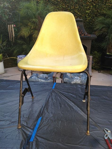 Fiberglass chair diy Image