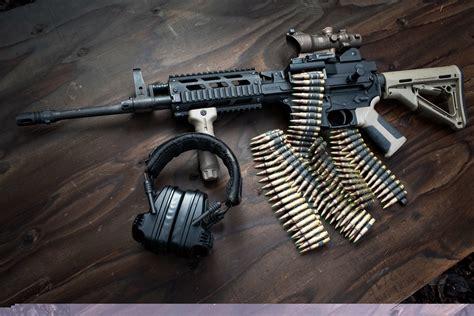FightLite Industries MCR Belt-fed Rifle