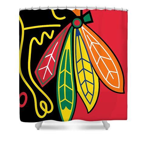 Files Images Blackhawks Shower Curtain