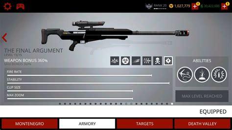 Final Argument Sniper Rifle Hitman Sniper