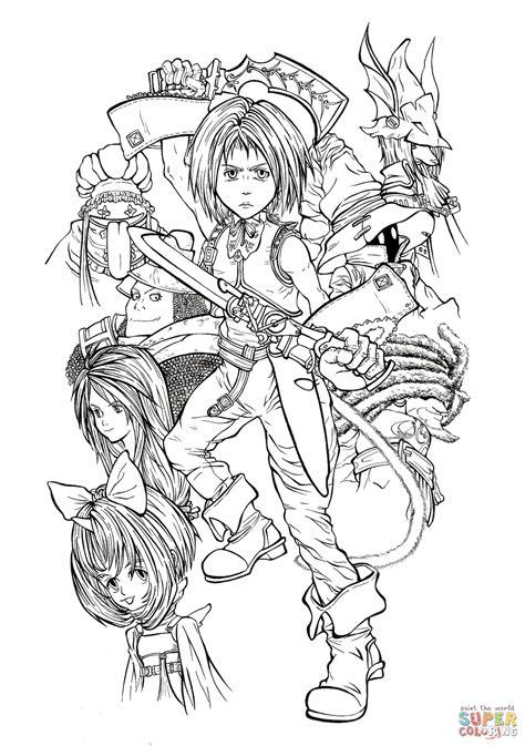 Final Fantasy Malvorlagen