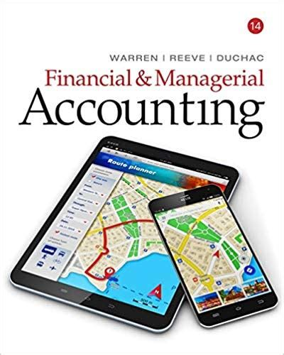 Financial Managerial Accounting 14th Edition Solution Manual