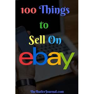 Find things to sell on ebay by doing ebay arbitrage promo code