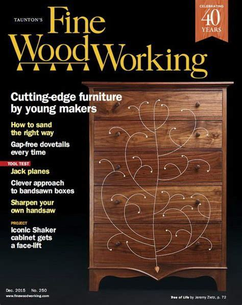 Fine woodworking 250 Image