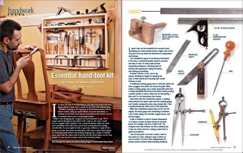 Fine woodworking 251 Image