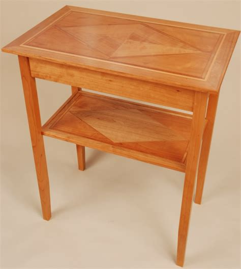 Fine woodworking end table plans Image