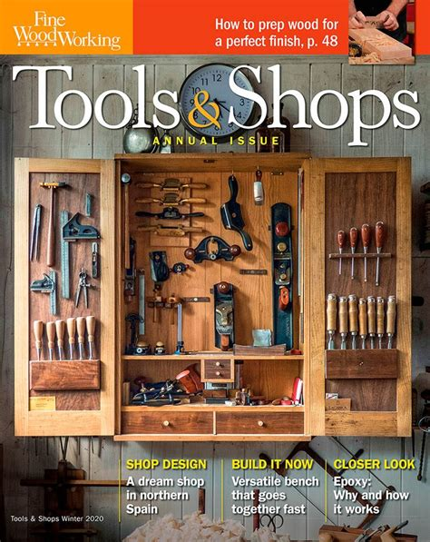 Fine woodworking tools and shops Image