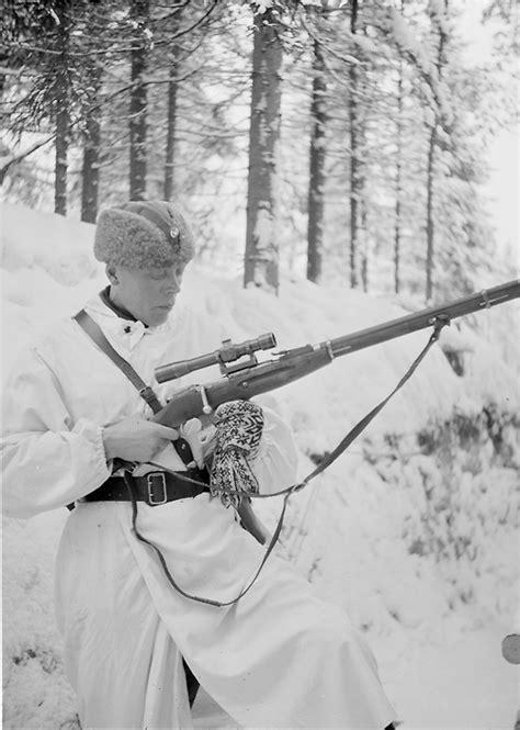 Finnish Assault Rifle Winter War