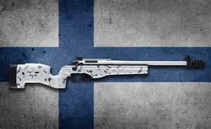 Finnish Sako Sniper Rifle