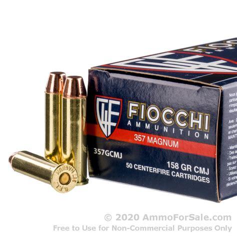 Fiocchi 158gr Cmj 357 Magnum Ammo Reviews