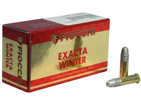 Fiocchi 22 Long Rifle 40grain Review