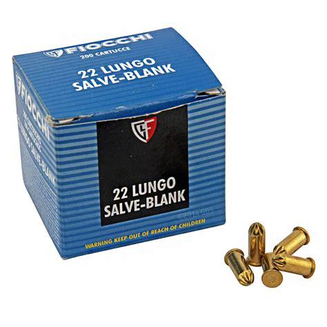 Fiocchi 22 Lr Pistol Revolver Blanks Work On Rifles