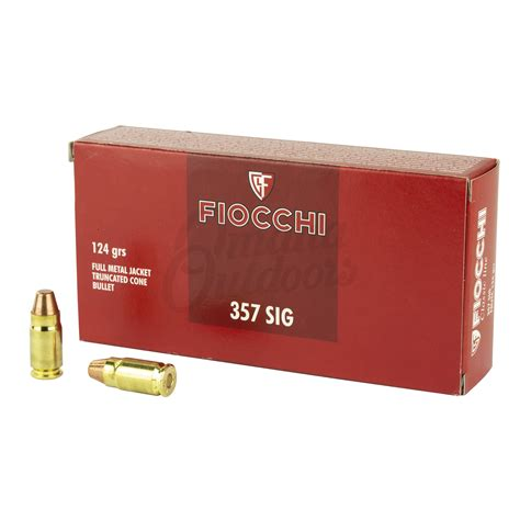 Fiocchi 357sig Ammo Review