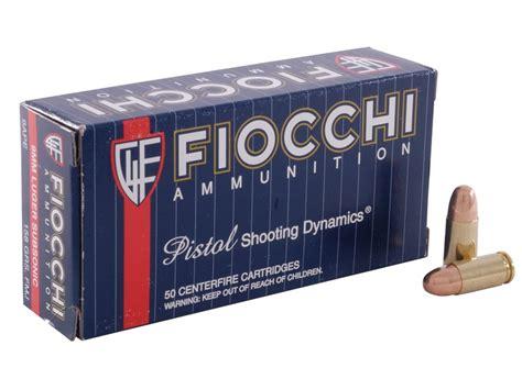 Fiocchi 9mm 158