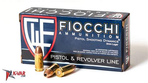 Fiocchi 9mm Handgun Ammunition Country Of Manufacture