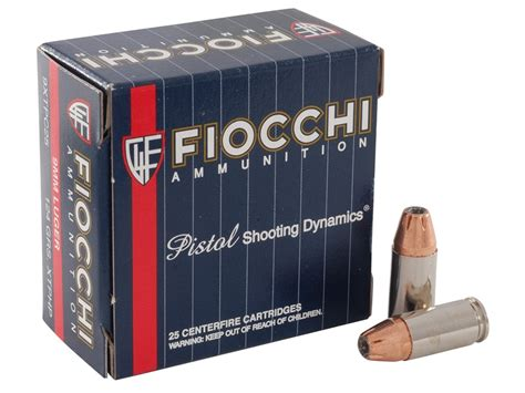 Fiocchi Extrema 9mm 124 Grain Hornady Xtp Review