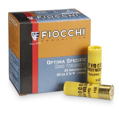 Fiocchi High Velocity Shotgun Shells Review