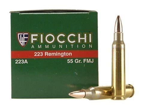 Fiocchi Shooting Dynamics 223 Remington Ammo 55 Grain Fmj