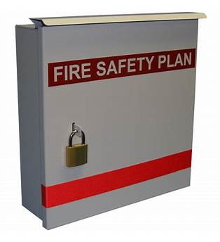 Fire Safety Plan Cabinets