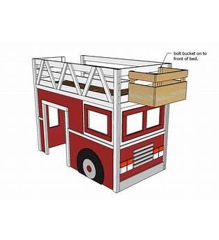 Fire Truck Loft Bed Plans