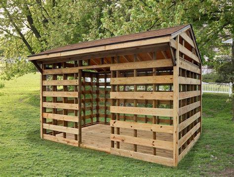 Fire wood sheds Image