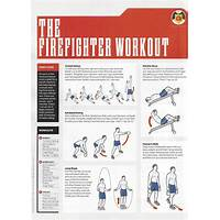 Firefighter fitness workouts for firefighters, emts and medics guides