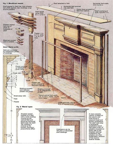 fireplace mantel blueprints.aspx Image