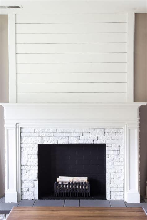 Fireplace facade diy Image