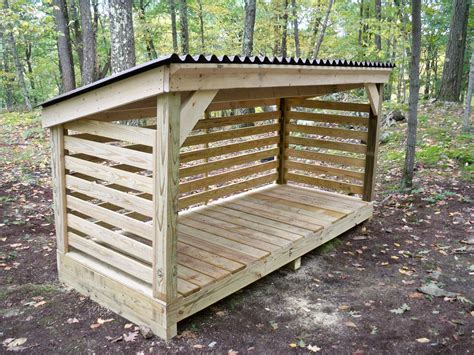 Firewood shed design Image