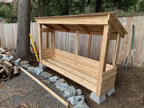 Firewood shelters Image