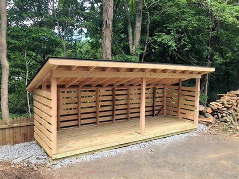 Firewood storage sheds for sale Image