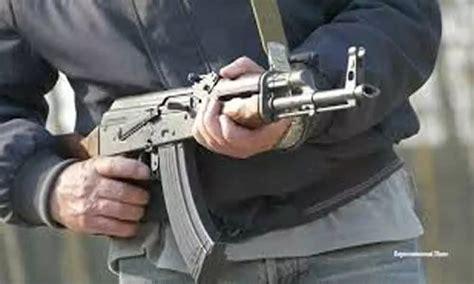 Firing A Ak 47