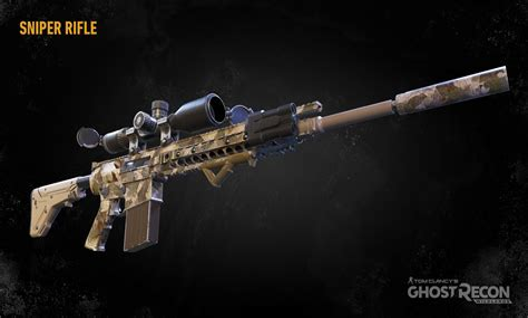 First Sniper Rifle Ghost Recon Wildlands