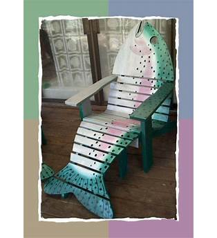 Fish Shaped Adirondack Chair Plans